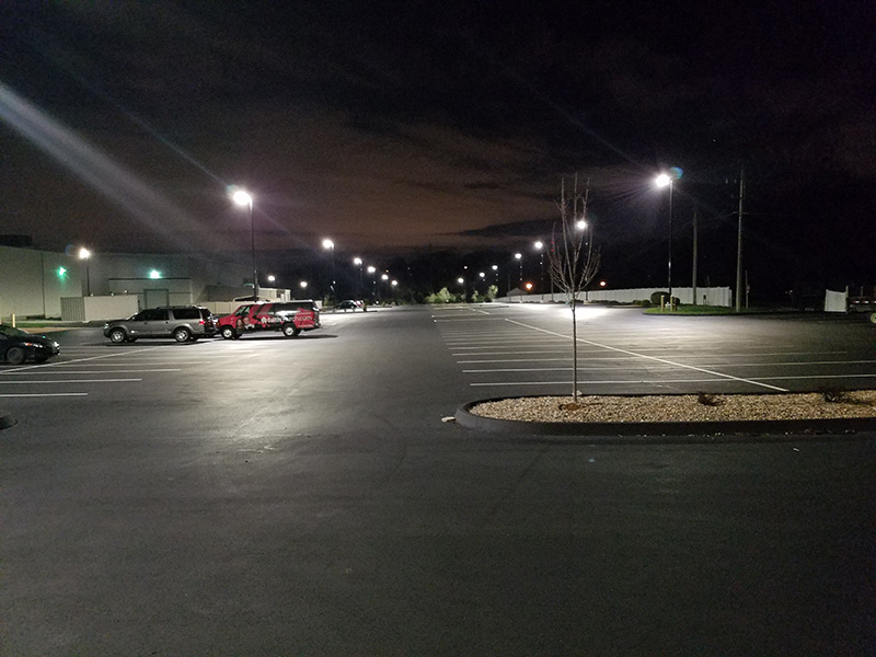 Parking lot pole lighting installation repair parking lot pole specializing in parking lot pole lighting installation and repair for nearly 28 years you can trust brda electric to provide superior commercial electrical aloadofball Images